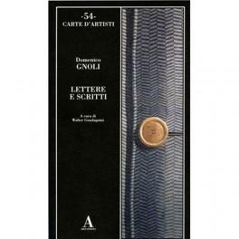 54 carte d'artisti Domenico Gnoli, Lettere e Scritti